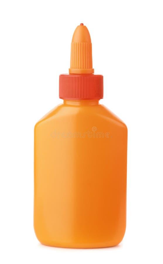 Glue bottle stock image
