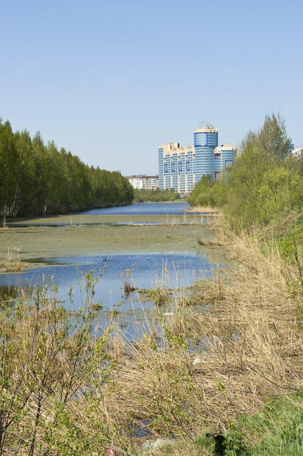 Download Gluharka River In Saint-Petersburg Stock Image - Image: 26850089