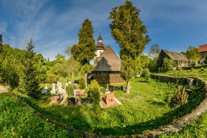 Gluszyca świątynia w Polska obraz stock