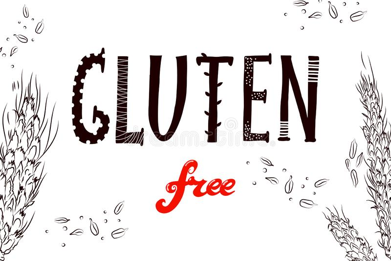 Gluten de rectangle illustration de vecteur