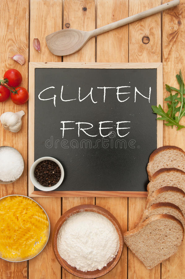 Gluten free royalty free stock photos