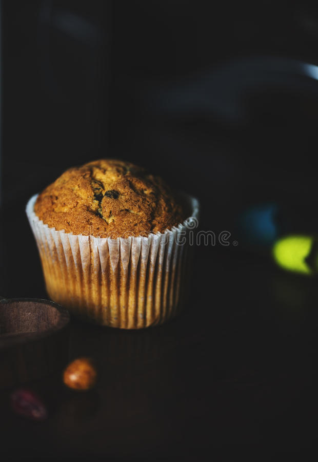 Gluten free muffin. stock photography