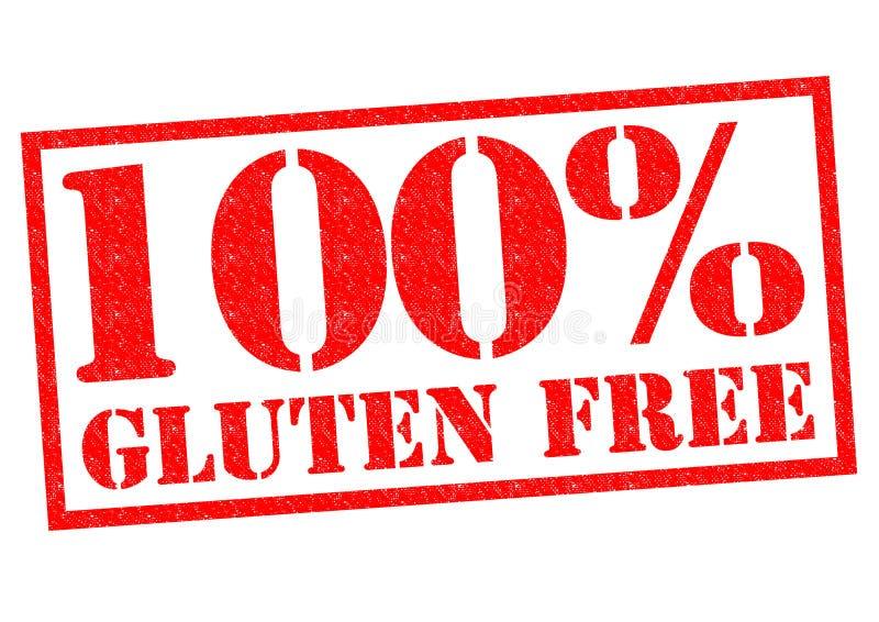 Gluten 100% frigör arkivfoton