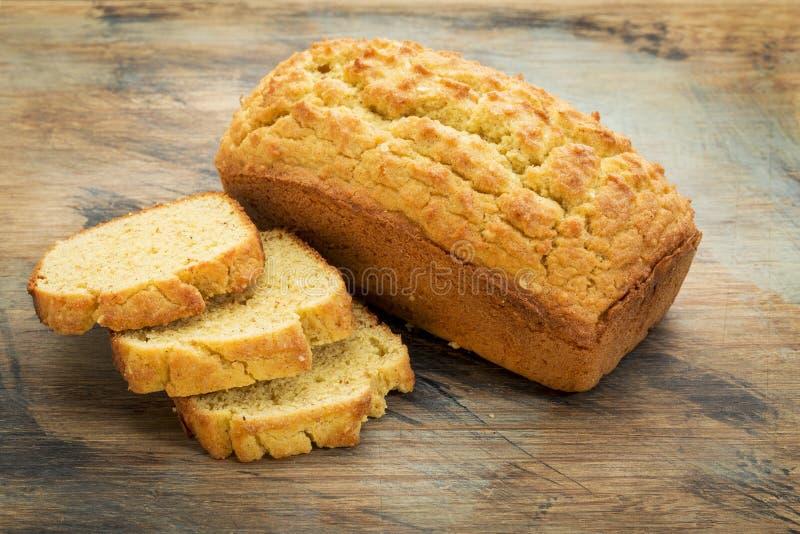 Gluten frigör bröd arkivbild