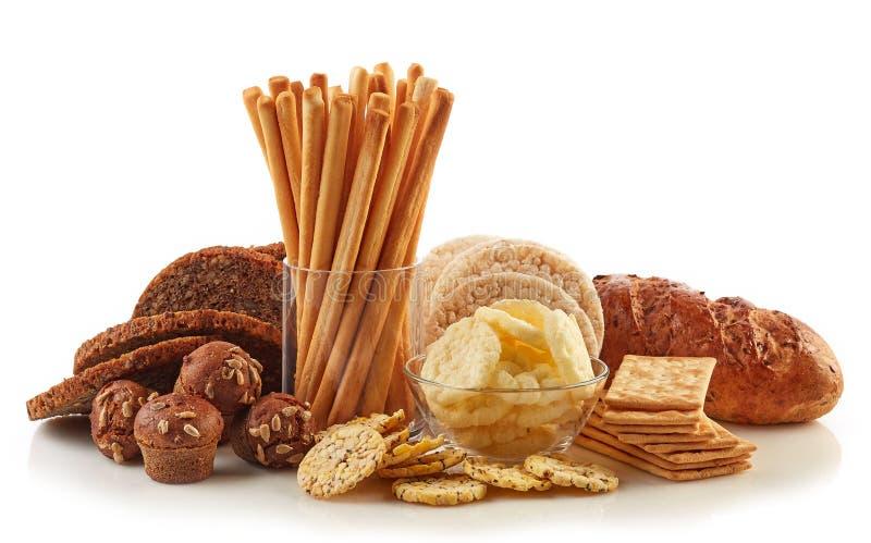 Gluten frigör mat royaltyfria bilder