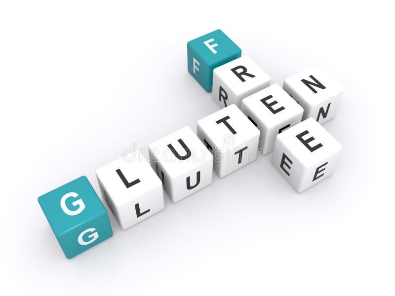 Gluten geben Diät frei vektor abbildung