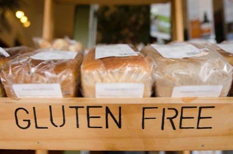 Gluten geben Produkte frei lizenzfreie stockbilder