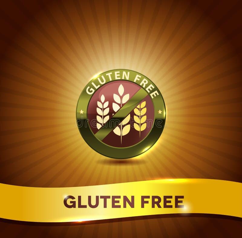 Gluten gratuit illustration stock