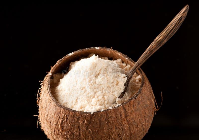 Gluten-Vrije kokosnotenbloem royalty-vrije stock foto's