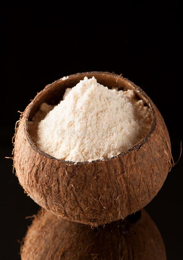 Gluten-Vrije kokosnotenbloem stock foto's