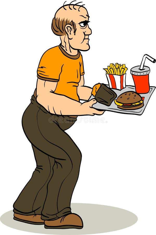 glutton illustration de vecteur