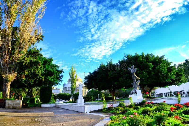 Glyfada, Athen, Griechenland - die Kirche  stockbild