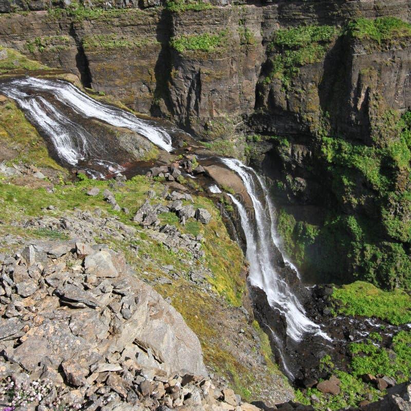 Glymur, IJsland stock fotografie