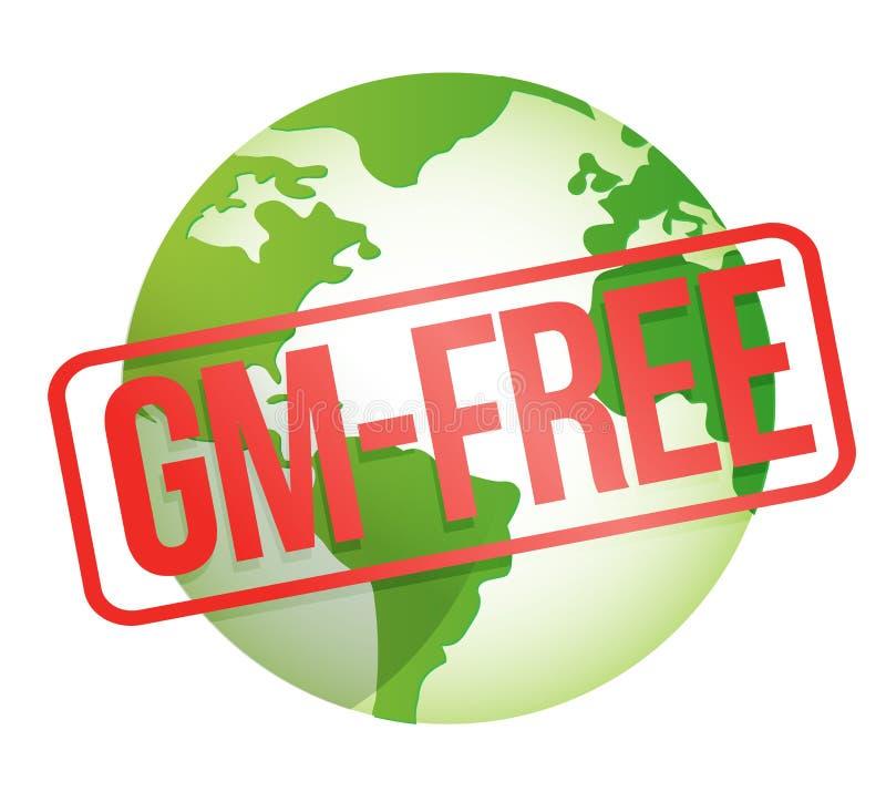 Gm - свободный глобус Стоковое Изображение