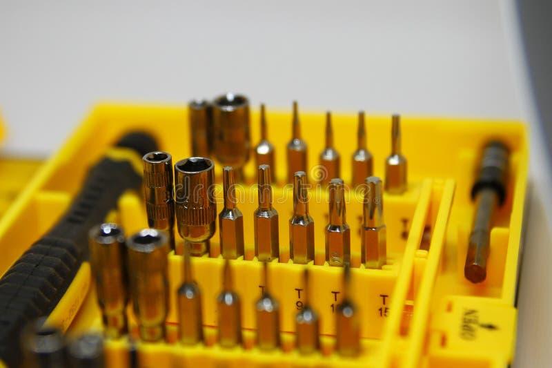 GM/M un ensemble d'outils informatiques photographie stock libre de droits