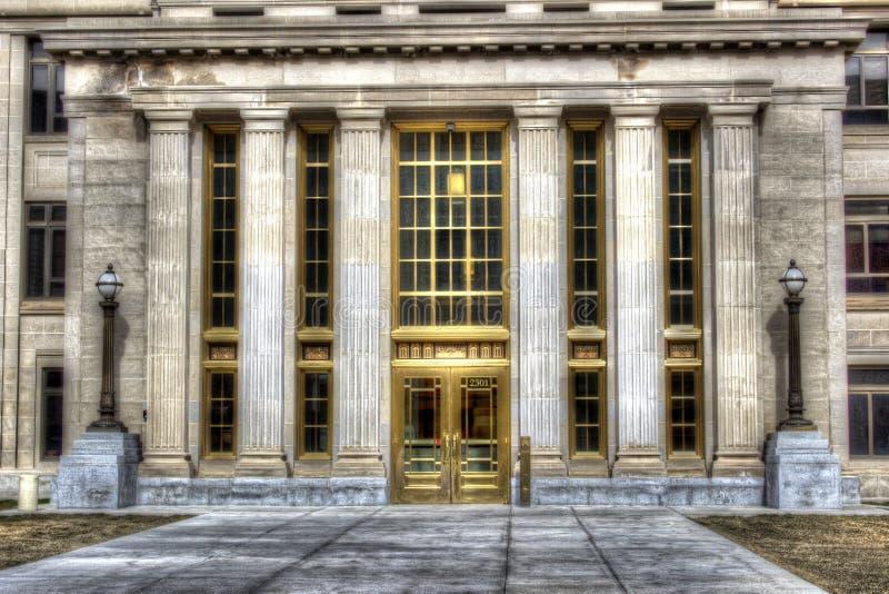 Gmach sądu zdjęcia royalty free