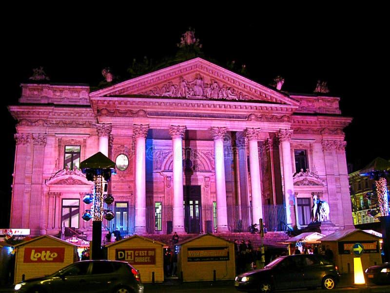 Gmach sądu, Bruksela zdjęcie royalty free