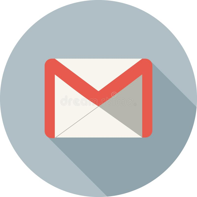 Gmail vector illustratie