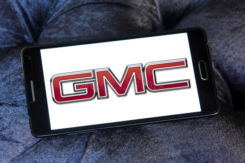 Gmc car logo royalty free stock image