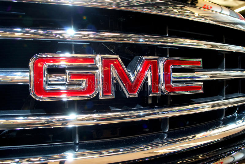 GMC emblem stock image
