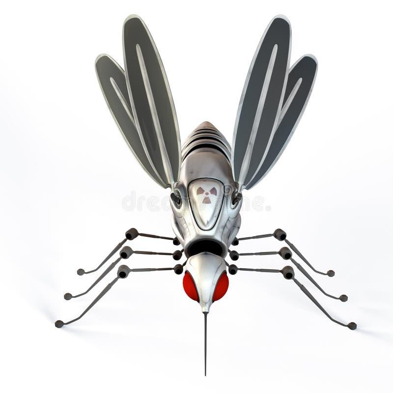 GMO robota komar ilustracji