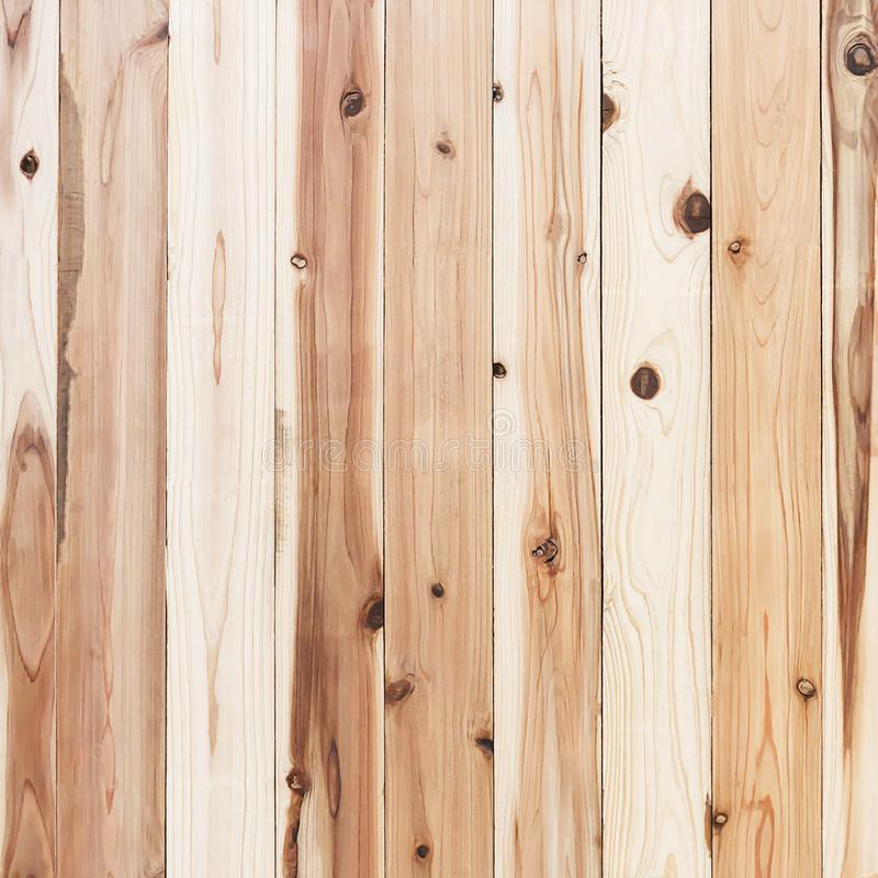 Gnarl hölzerne Wandplanke Browns und Beschaffenheit oder Hintergrund stockfoto