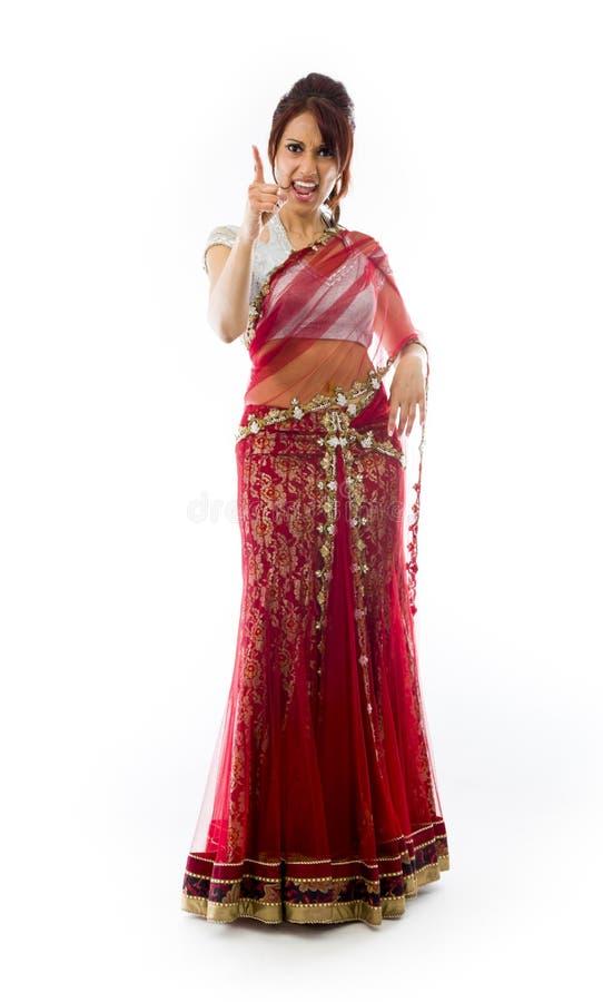 Download Gniewny Indiański Młodej Kobiety łajanie Somebody Obraz Stock - Obraz złożonej z argument, target162: 41951765