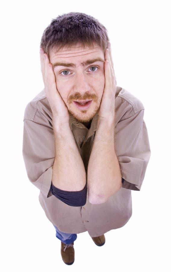 Download Gniewny mężczyzna zdjęcie stock. Obraz złożonej z szalony - 13331930