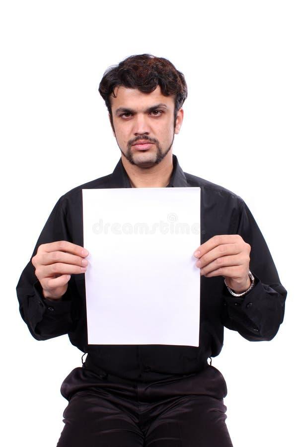 gniewny plakat zdjęcia stock