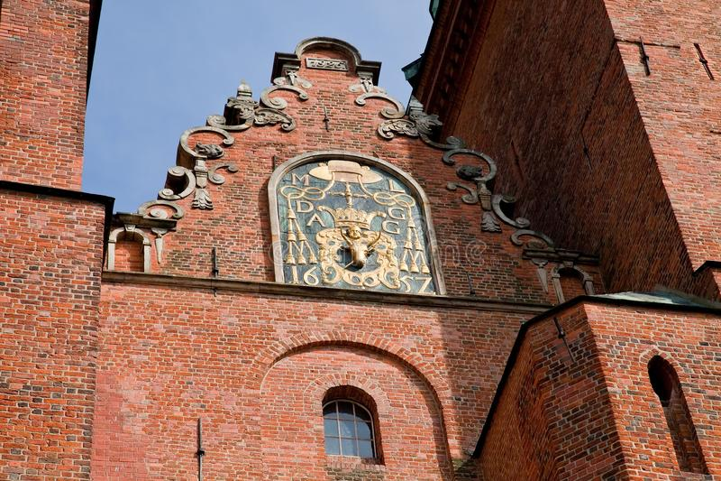 gniezno собора базилики стоковая фотография
