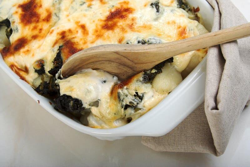 gnocchi casserole стоковая фотография rf
