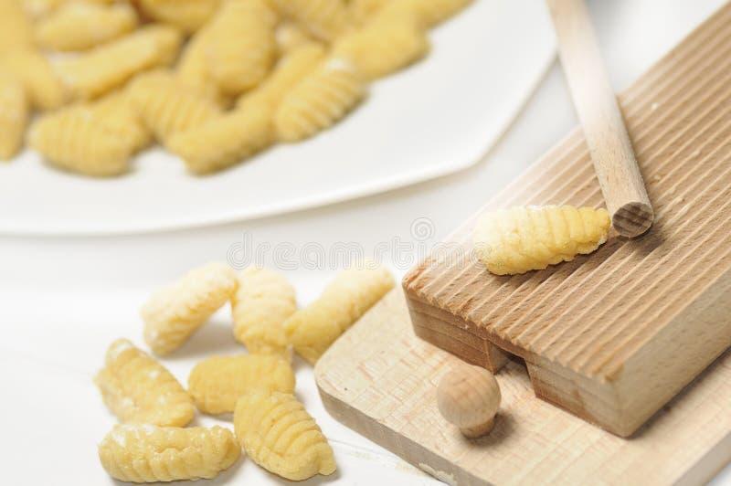 Gnocchi stock image