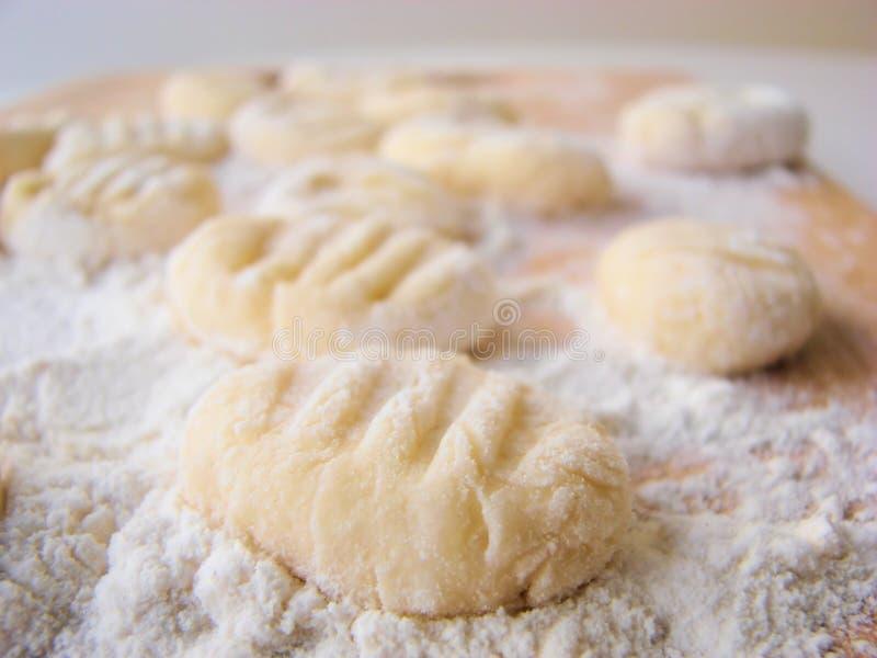 gnocchi włoch zdjęcie stock
