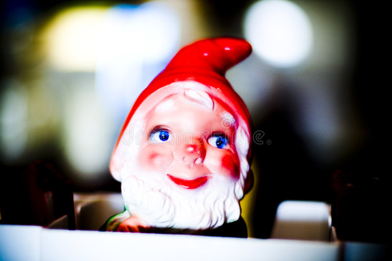 Gnome fotografia stock libera da diritti