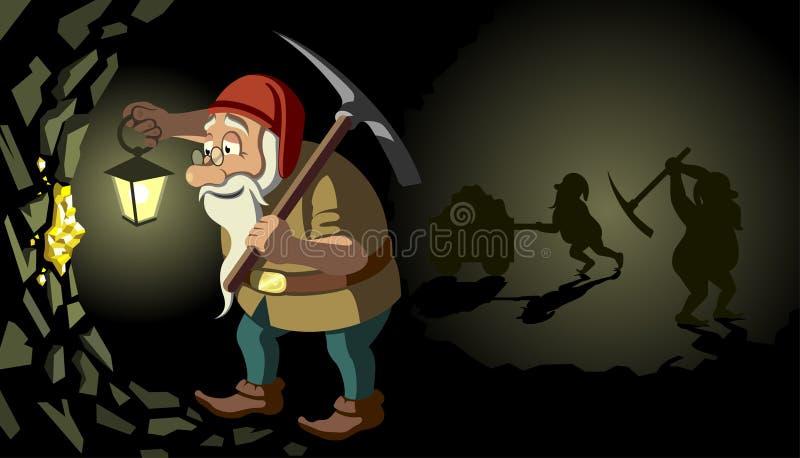 Gnome ilustração stock
