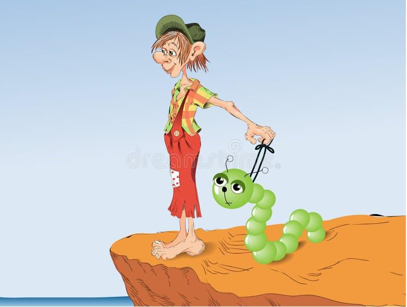 Gnome ilustração do vetor
