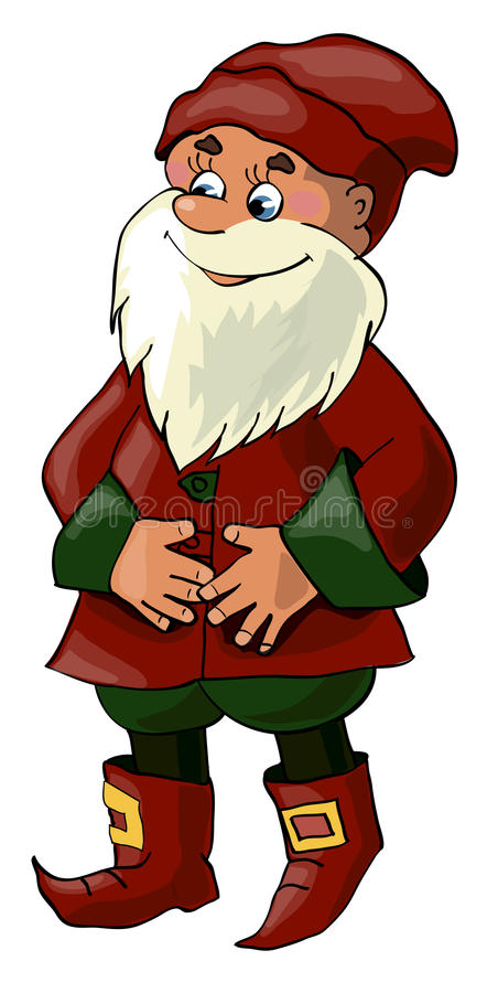 Download Gnome stock vector. Image of enjoy, decorative, culture - 28597025