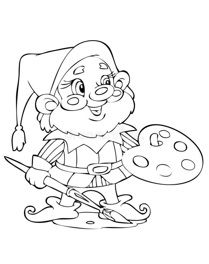 gnome иллюстрация вектора