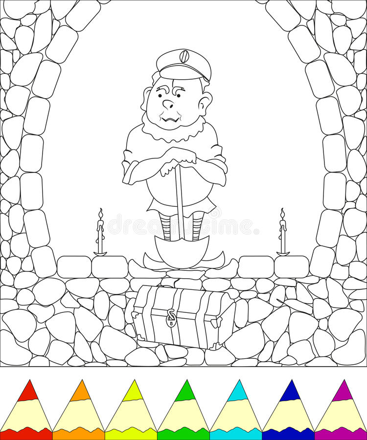 gnome royalty-vrije illustratie