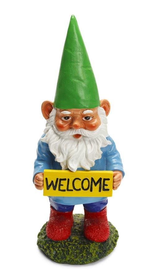 Gnome benvenuto immagini stock libere da diritti