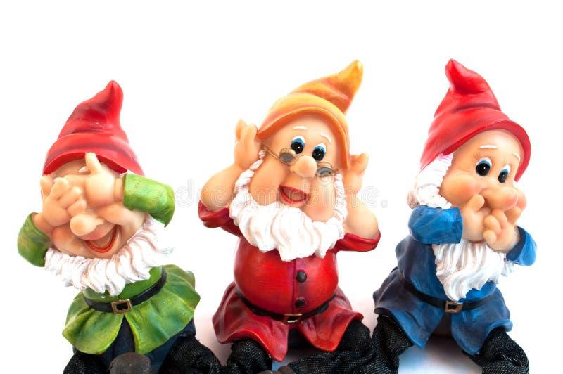 Gnome de jardin photo libre de droits