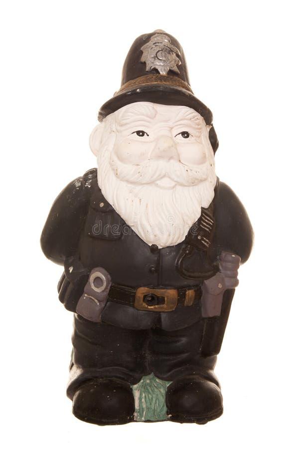 Gnome de policier images stock