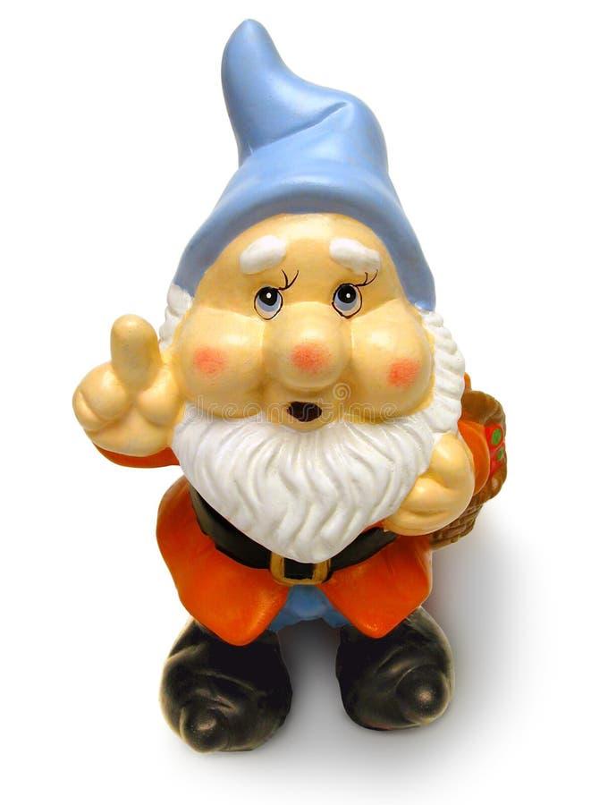 Gnome del giardino fotografie stock