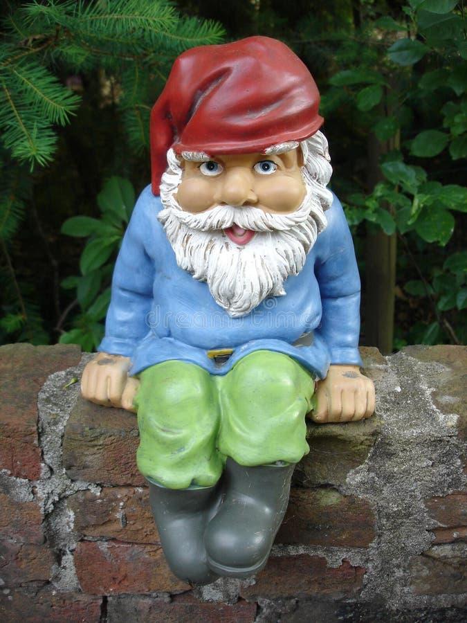 Gnome del giardino immagini stock