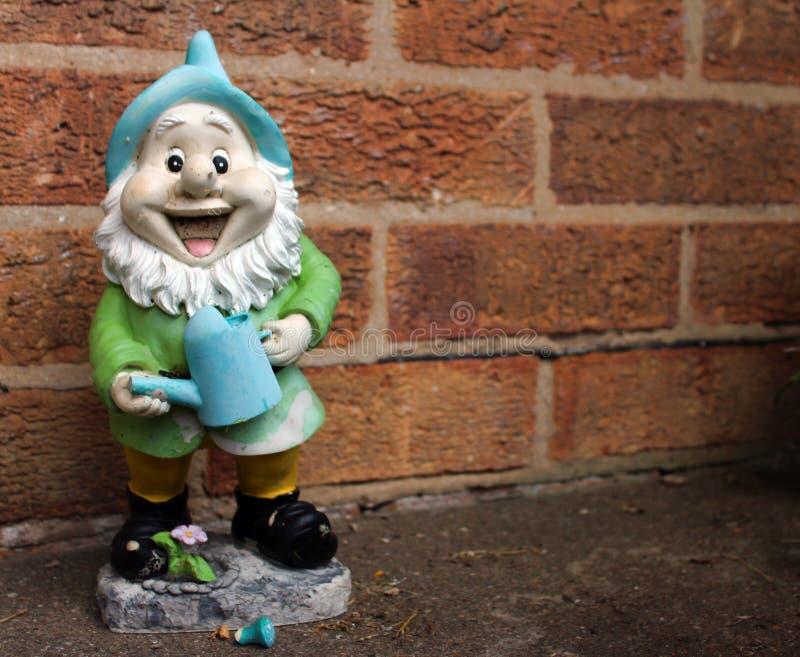Gnome felice fotografia stock libera da diritti