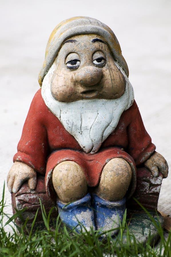 Gnome garden stock photo