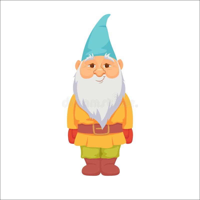 gnomes карлик смешной иллюстрация вектора