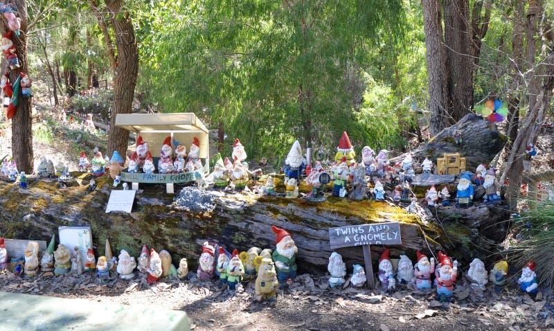 Gnomesville: Ferguson Valley, Western Australia royalty free stock photos
