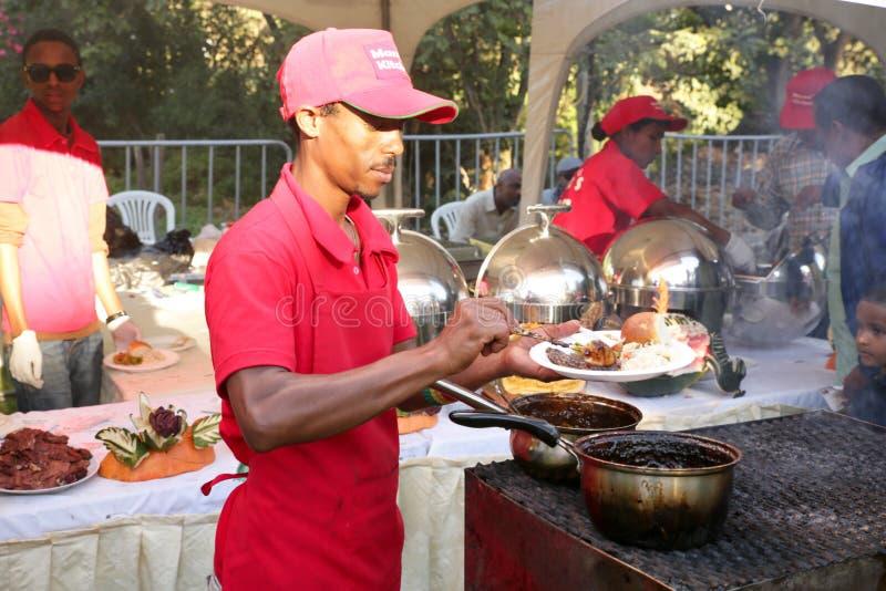 Goût 2012 de festival de nourriture d'Addis image stock