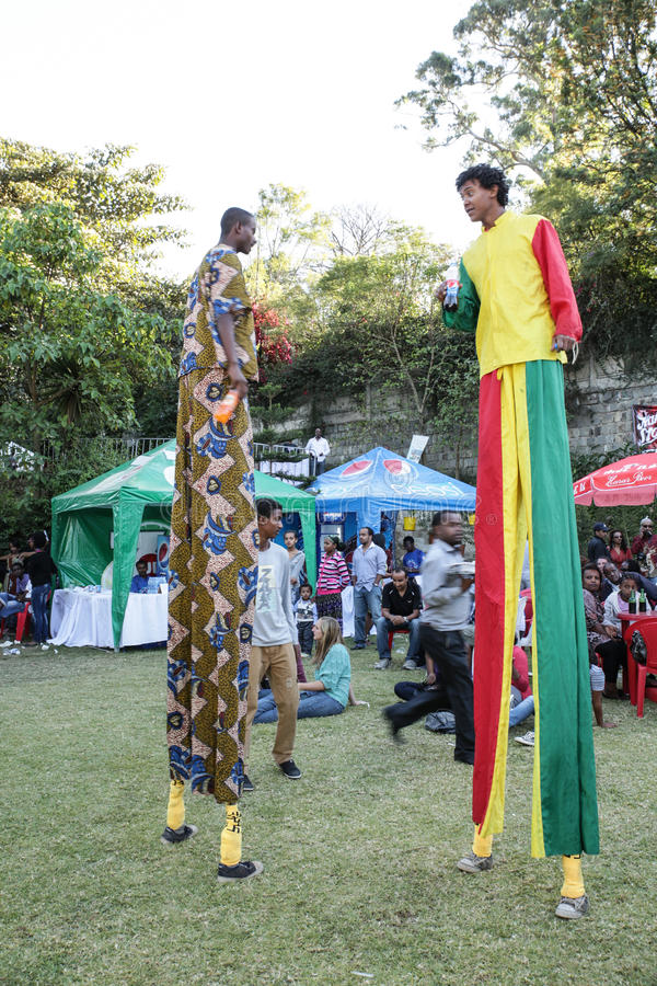 Goût 2012 de festival de nourriture d'Addis photo stock